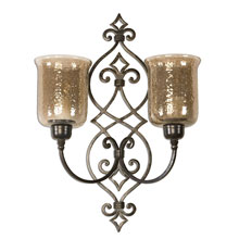 Sorel Metal Double Wall Sconce