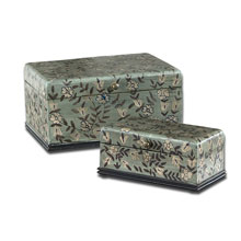 Aciano Hand Painted Boxes, Set/2