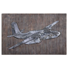 Pride of the Air Metal Wall Art