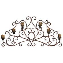 Juliana Metal Wall Art Sconce