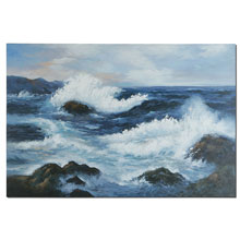 Uttermost Rugged Coast Canvas Art