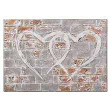 Uttermost Hearts Of The City Hand Painted Art
