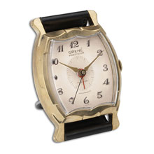 Wristwatch Alarm Square Grene