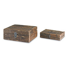 Indio Boxes, Set of Two