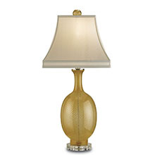 Artois Table Lamp, Gold
