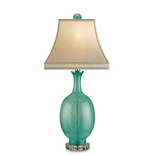 Artois Table Lamp, Aqua