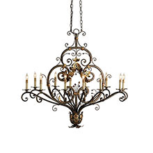 Dominion Oval Chandelier