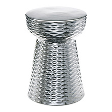 Chrome Cone Stool
