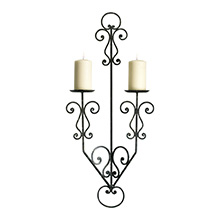 Decorative Scroll Candleholder