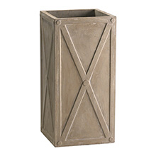 Large Deco Square Planter