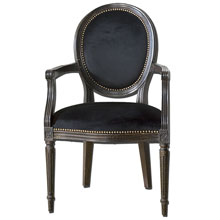 Cecily Black Occasional Armchair