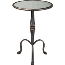 Anais Mirrored Accent Table