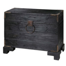 Carino Wooden Trunk Table