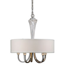 Grancona 5 Light Drum Shade Chandelier