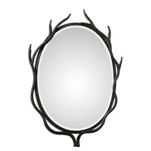 Esher Oval Metal Mirror