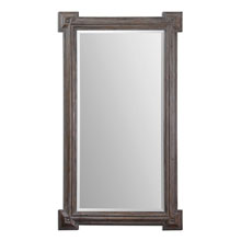 Alberto Large Wood Mirror