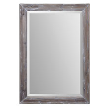Delmore Aged Wood Mirror