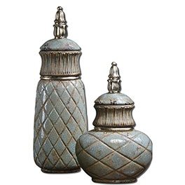 Decorative Bottles - Canisters